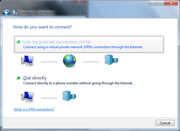 6.Use my Internet connection